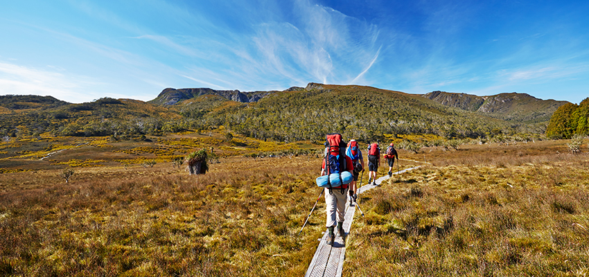 Enjoy unspoilt remote destinations – Overland Track